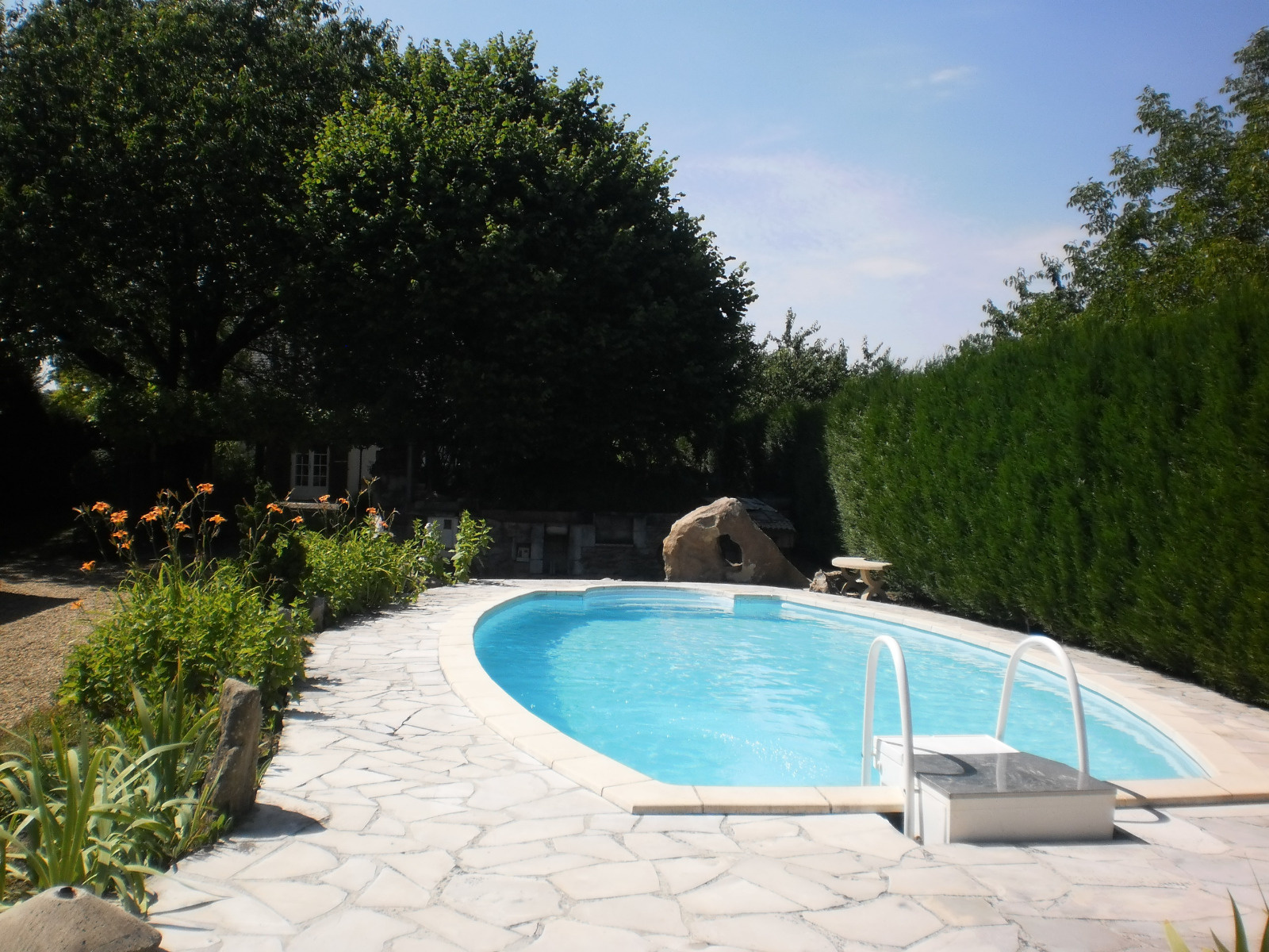 Vente immobilier particulier cadre agr able piscine for Piscine evolutive 9